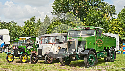 Vintage vehicles at Pickering Editorial Photography