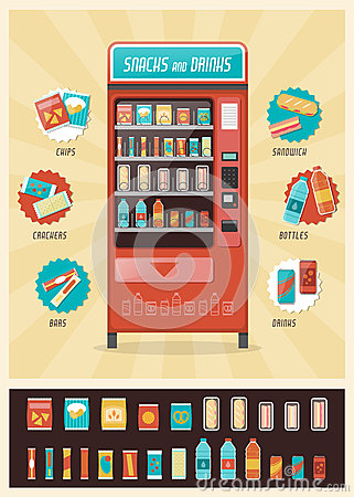 Free Vintage Vending Machine Stock Photo - 60048500