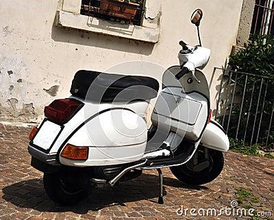 Vintage Vespa scooter