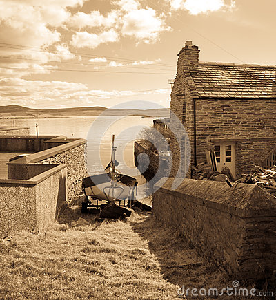 Vintage view of Stromness