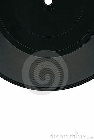 Vintage Vinyl 33rpm Record Black Label Clipping Royalty