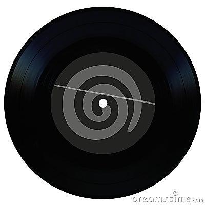 Vintage vinyl record