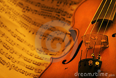 Vintage Violin Stock Images - Image: 5526714