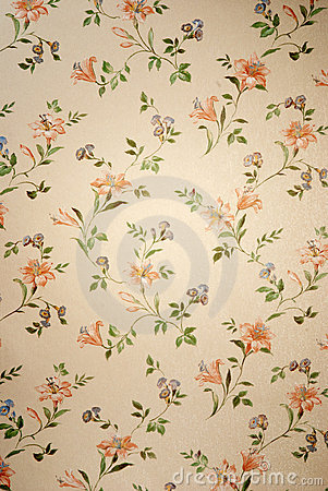 Vintage Wallpaper Royalty Free Stock Photo - Image: 19828345