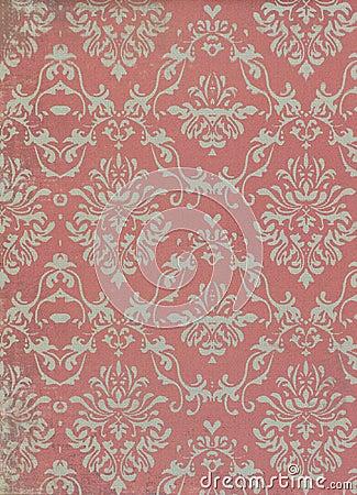 Free Vintage Wallpaper Pattern Royalty Free Stock Photo - 22142425