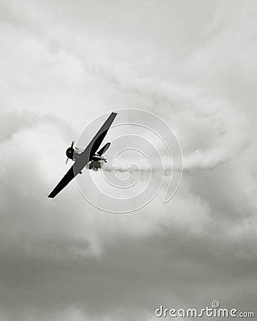 Vintage war plane