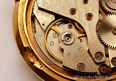 Vintage watch mechanism #2