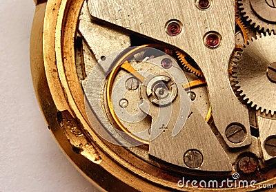 Vintage watch mechanism #2