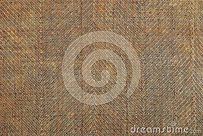 Vintage weave wood pattern for background