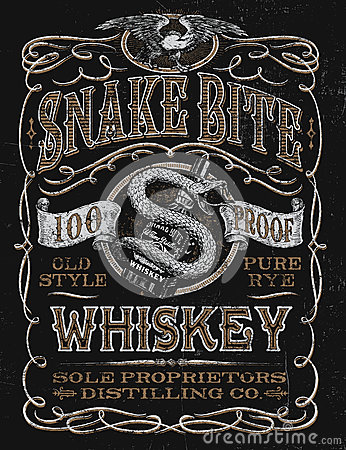 vintage whiskey label tshirt graphic stock vector image
