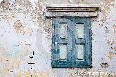 A vintage window