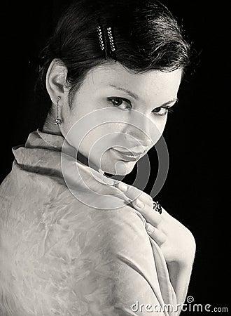 Vintage woman #5