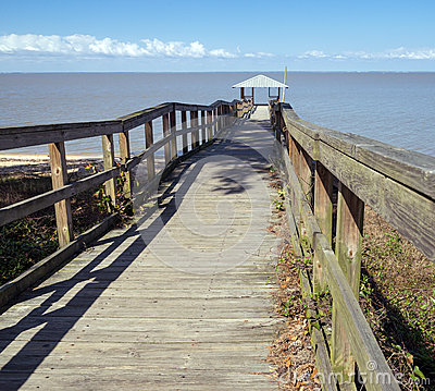 Free Vintage Wooden Fishing And Swimming Pier Stock Photos - 38586333
