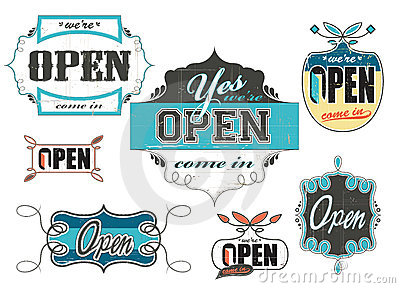 Vintage_worn_out_open_signs
