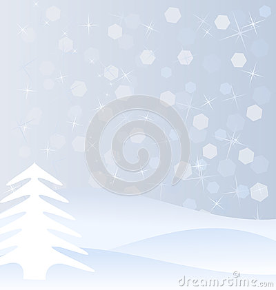 Vinterbakgrund