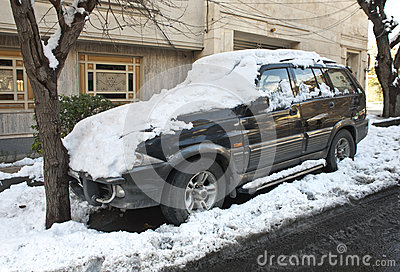 Vinterbil