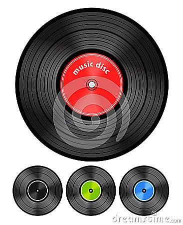 Vinyl audio discs
