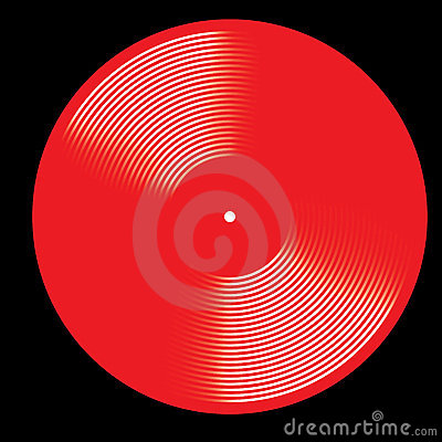 Vinyl Disk Stock Photography - Image: 12393272