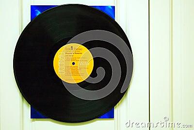 Vinyl LP record