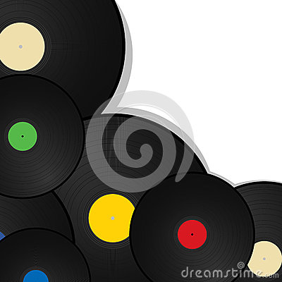 Vinyl  background