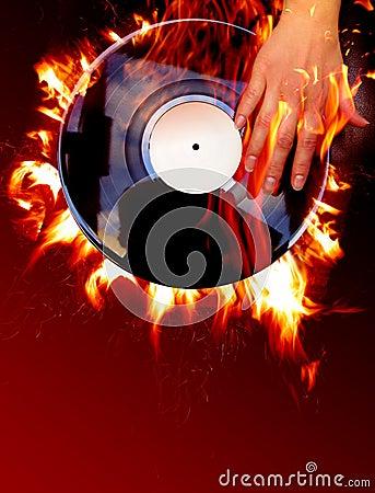 Free Vinyl Record Stock Images - 1118934