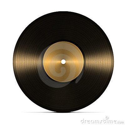 Free Vinyl Record Royalty Free Stock Photo - 18343355