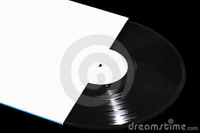 Vinyl record with envelope