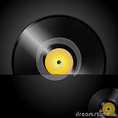 Vinyl record panel cao