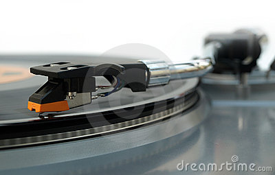 Vinyl record player stylus