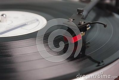 Vinylskivspelare