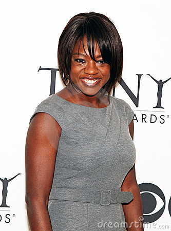 Viola Davis Editorial Stock Image