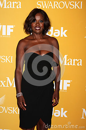 Viola Davis arrives at the City of Hope s Music And Entertainment Industry Group Honors Bob Pittman Event Editorial Photography