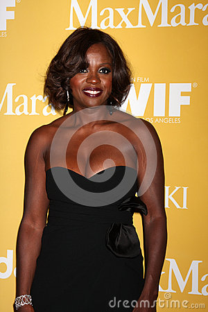 Viola Davis arrives at the City of Hope s Music And Entertainment Industry Group Honors Bob Pittman Event Editorial Stock Image