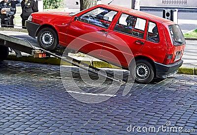 Violación 2 del estacionamiento