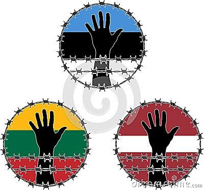 Violación de los derechos humanos en los Estados bálticos
