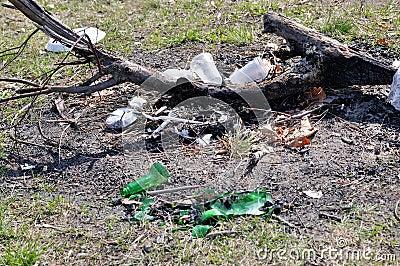 Violação & negligência da natureza e da ecologia