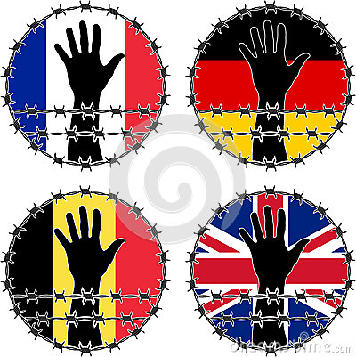 Violation of human rights in European countries
