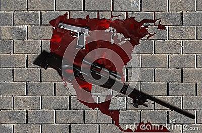 Violent america