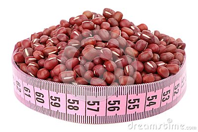 Violet bean and meter
