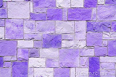 Violet brick patchwork