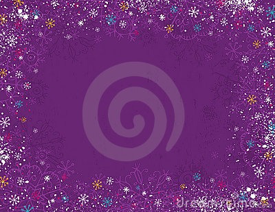 Violet christmas background,
