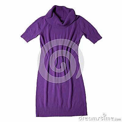 Free Violet Dress Stock Images - 17612314