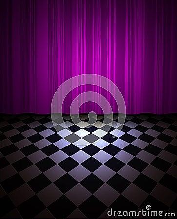 Violet drop scene