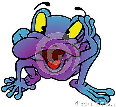 Violet Frog