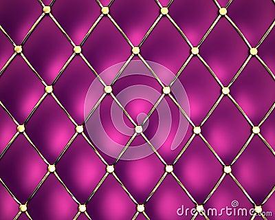 Violet genuine leather