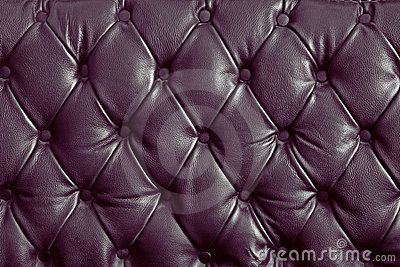 Violet genuine leather