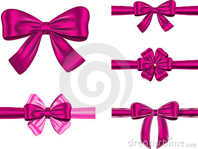 Violet gift ribbon set