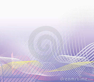 Violet halftone background