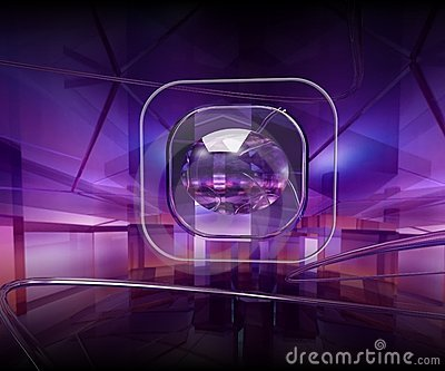 Violet lens