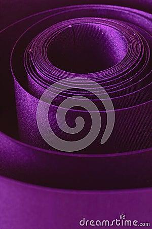 Violet ribbon